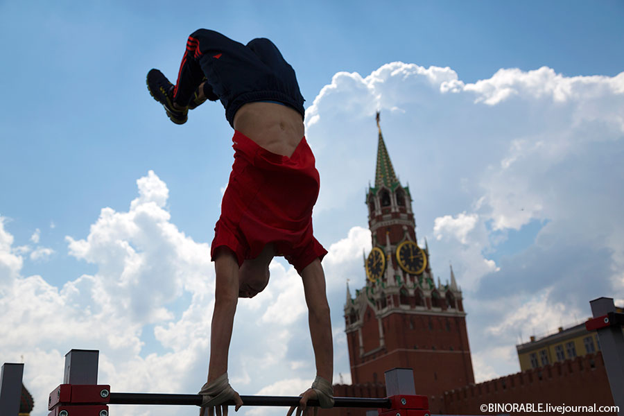 Девятый форум ГТО на Красной площади нормы гто