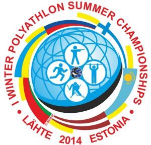I летний Чемпионат Мира-2014 по зимнему полиатлону 24-29 августа Ляхте Эстония эмблема