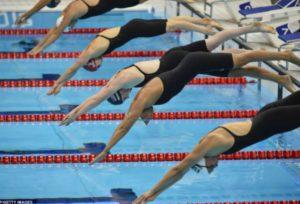 Заплывы Чемпионата и Первенства Москвы по летнему четырехборью 17 ноября