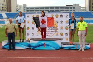победители полиатлона на Всероссийских летних сельских спортивных игр в Курске